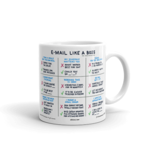 Email Like A Boss coffee mug