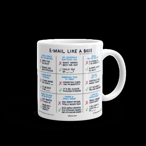 Email Like A Boss coffee mug