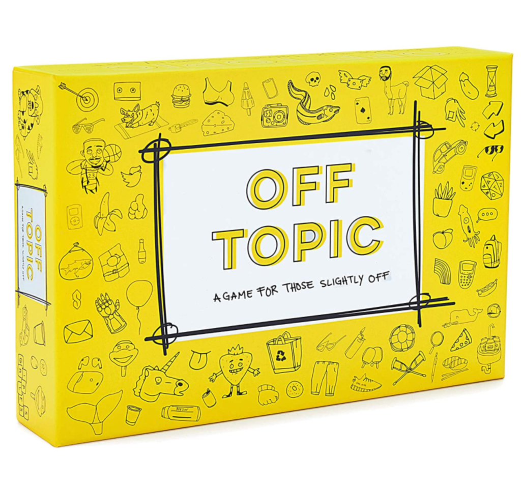 Off-Topic card game